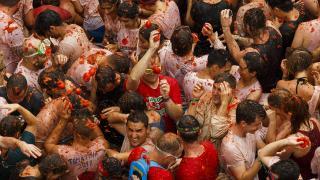 Томатина или Битва томатов в Испании