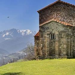 Дороманская архитектура Астурии. Санта-Кристина-де-Лена, IX век