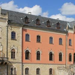 Замок Сихров и столица чешского граната город Турнов