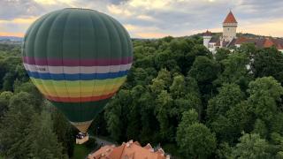 Полёт на воздушном шаре над замками Чехии