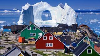 Ледниковый фьорд Илулиссат, Гренландия