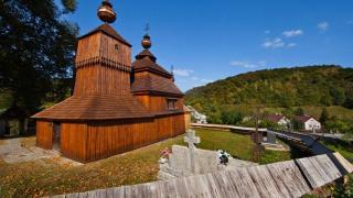 Словакия, деревянные церкви в Карпатах. Всемирное наследие UNESCO