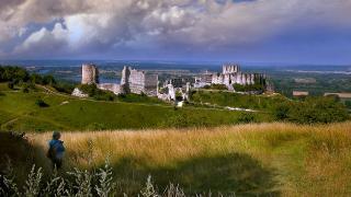 """Верхняя Нормандия. Шато Гайар - """"Веселый замок"""""""