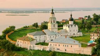 """Казань - музей """"Остров-град Свияжск"""""""
