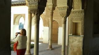 Granada es Acceso al patio: El Genralife