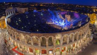 Италия. Спектакли в Арена ди Верона