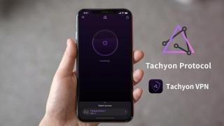 Tachyon VPN — певрое приложение на блокчейн