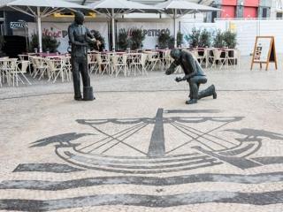 Знаменитый португальский тротуар — Calçada portuguesa