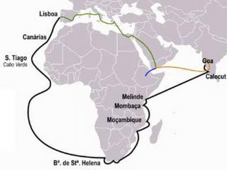 Португальские каравеллы. Эпоха Великих географических открытий