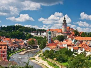 Жемчужины Богемии. Замок Глубока над Влтавой и Чешский Крумлов