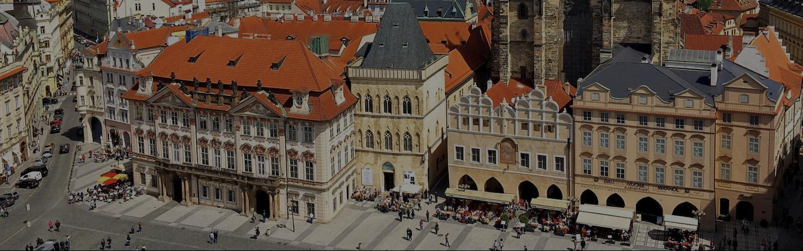 На ретро-автомобиле по Праге, 2 часа