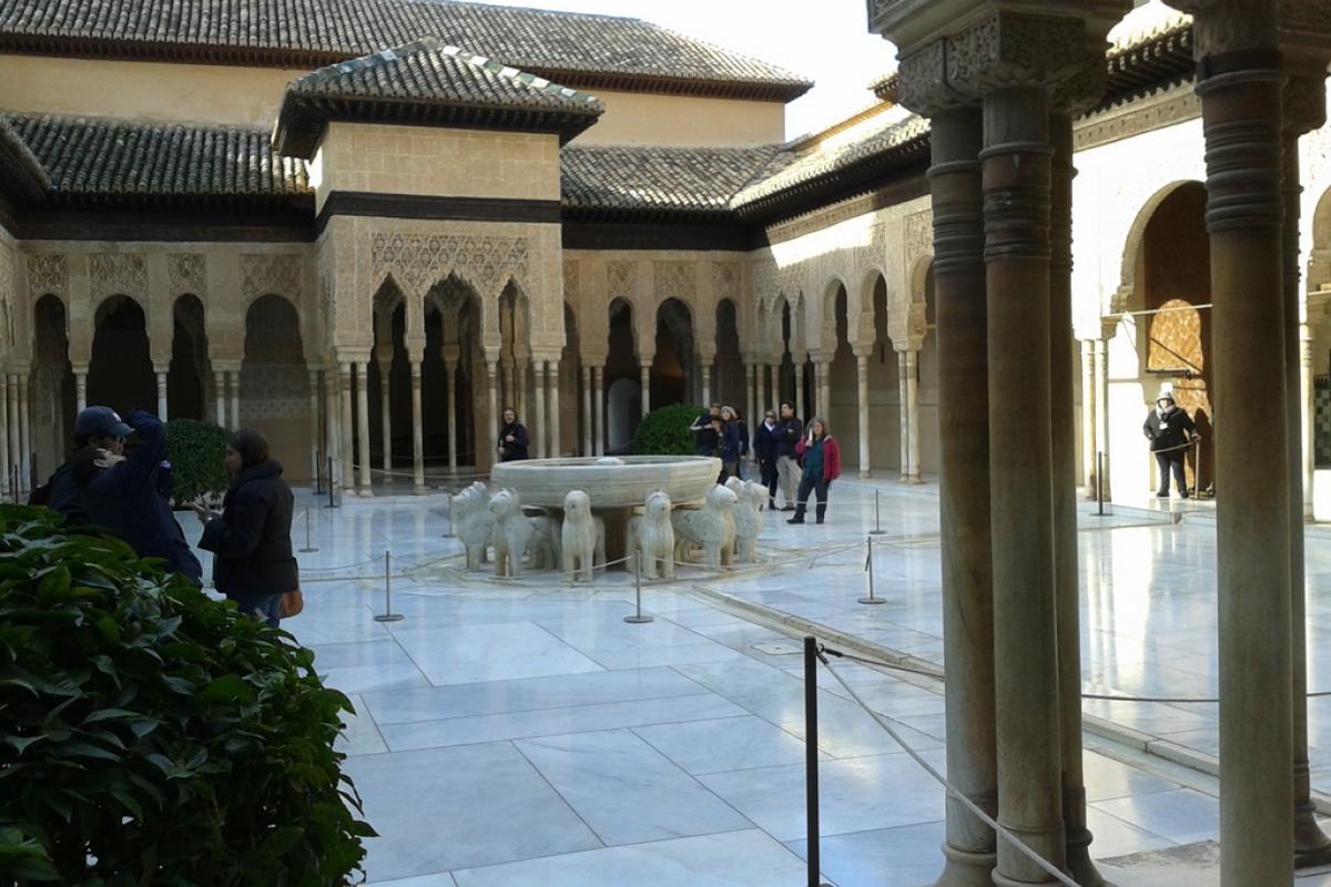 Granada es El Patio de Los Leones