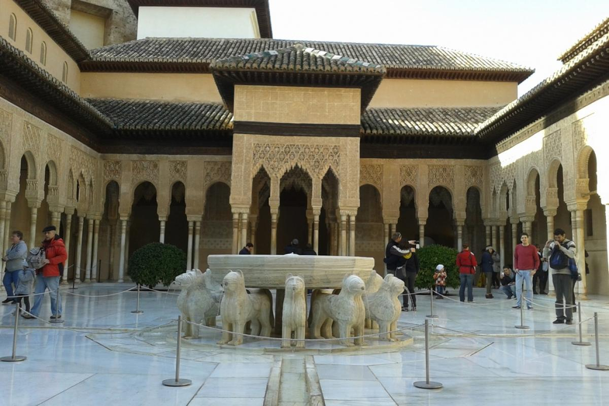 Granada es El Patio de Los Leones en toda su grandeza
