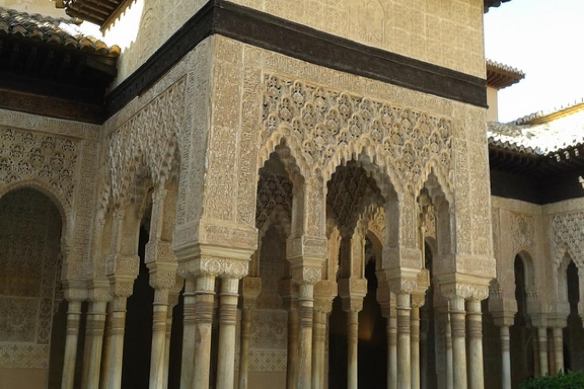 Granada es El Agua refresca el ambiente sofocante del verano
